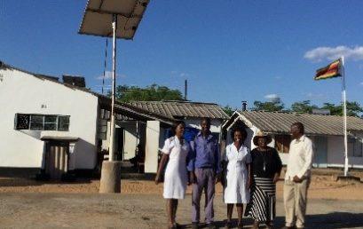 Solar lights bring joy to Mdlakunzi Clinic