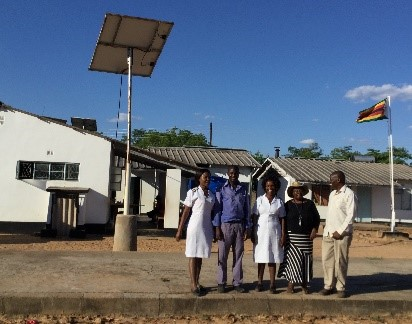 Solar lights bring joy to Mdlakunzi Clinic