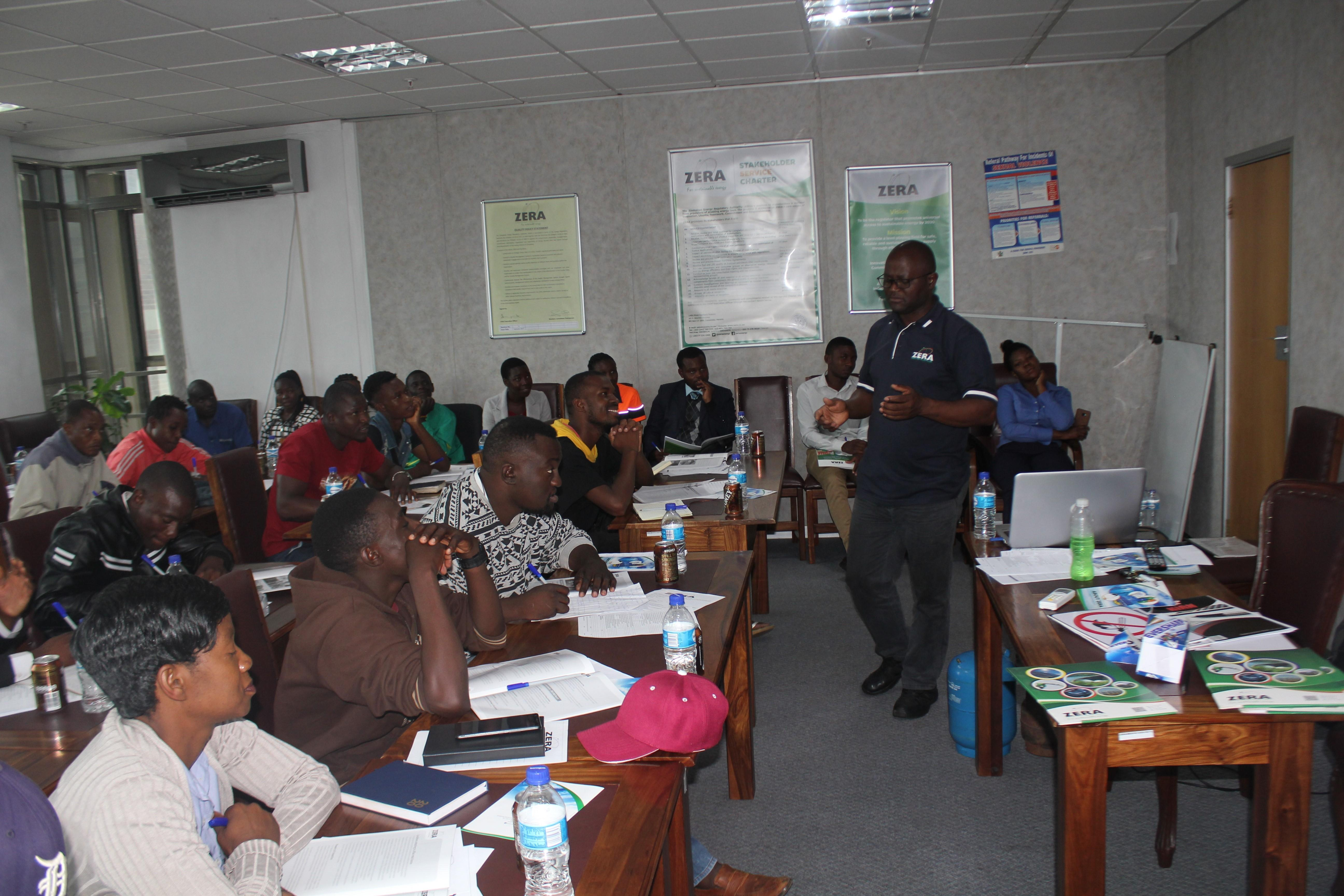 ZERA trains LPG fillers and operators