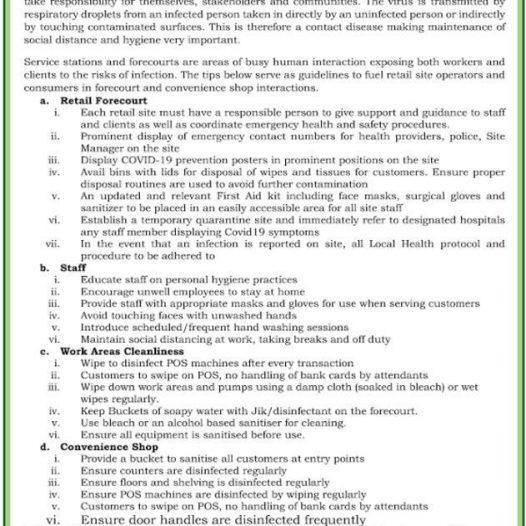 Petroleum Sector Notice: Extension of Petroleum Procurement Licenses