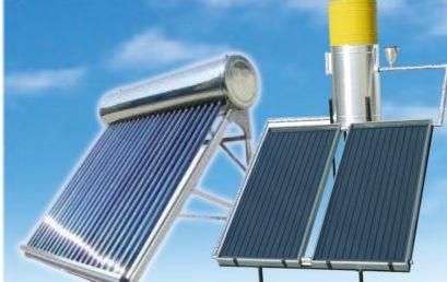 Save energy, use solar geysers for efficient water heating